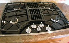Frigidaire counter-top gas cook stove...